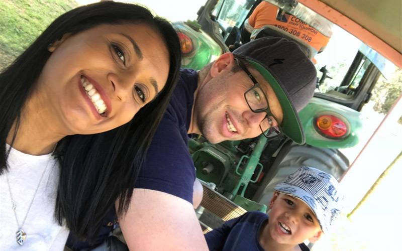 ENDEAVOUR HILLS Family 7 - Netaisha and John Harvey
